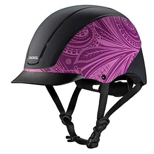Troxel Spirit Performance Helmet, Purple Boho, Medium