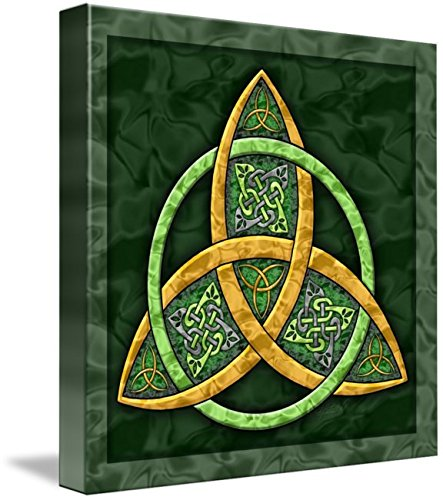 Wall Art Print entitled Celtic Trinity Knot by Kristen Fox