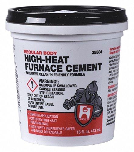 Furnace Cement, High Temperature, 1 pt.