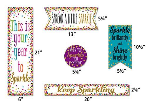 Teacher Created Resources Confetti Sparkle and Shine Mini Bulletin Board (TCR8962) Photo #2