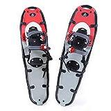 """Hewolf Snow Shoes with Adjustable Ratchet Bindings for Women Men (9""""×30"""")"""