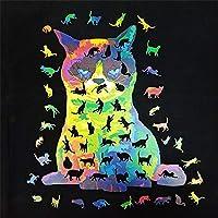 パズル ジグソーパズル 猫 木製パズル ぱずる 大人 子供 puzzle ジグソー 地獄の難しさ (A3)