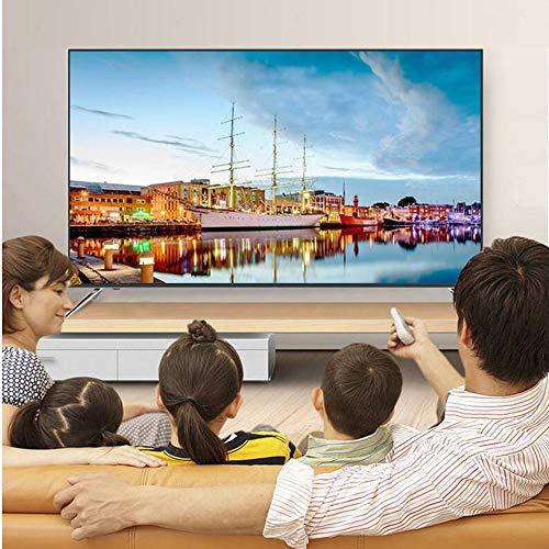 32/42 Zoll Full HD LED-Fernseher Mit 2 x USB, 2 x HDMI, Antenne, Netzwerk, Schlafzimmer Wohnzimmer Hotel Smart LED TV (Golden)