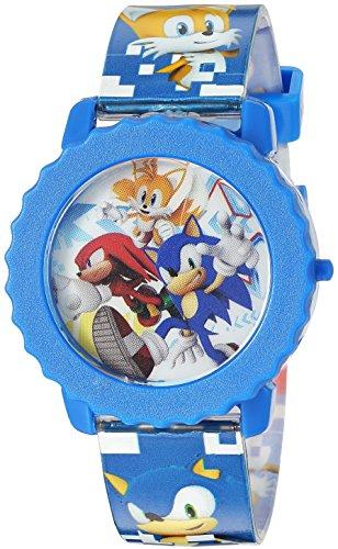Sonic the Hedgehog Kids SNC4028 Digital Display Quartz Blue Watch
