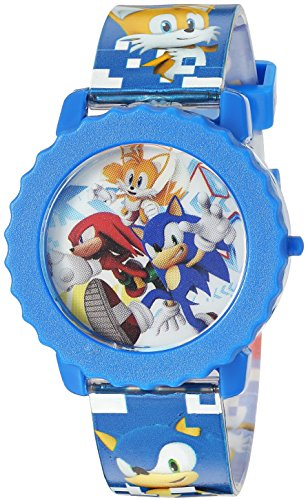 Sonic the Hedgehog Kids' SNC4028 Digital Display Quartz Blue Watch