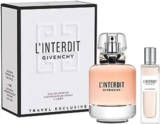 Givenchy L'Interdit Eau De Parfum 80ml with Vaporisateur Spray 15ml