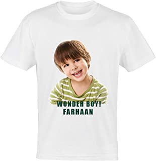 Round Neck Polyester Personalized T Shirt with Your Picture and Message