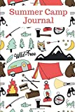 Summer Camp Journal: Kids campground memories journal with prompts. Perfect Gift for girls or boys to build their own camping keepsake book. - Camping Kate