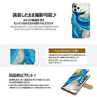 Mongeese Moto e7 ケース 手帳型 カバー スマホケース 合皮レザー カードホルダー おしゃれ かわいい 耐衝撃 花柄 人気 純正 線画-クジラと月 かわいい アニメ アニマル 15428643