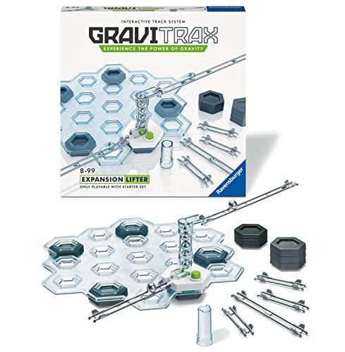 Ravensburger- GraviTrax Set d'extension Lifter Juego de Mesa, Multicolor (27622)