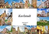 Karlstadt Impressionen (Wandkalender 2022 DIN A4 quer): Eine Bilderreise durch das malerische Karlstadt (Monatskalender, 14 Seiten )