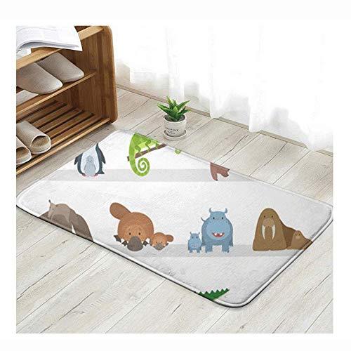 CHENYI kussen sokken schattig grappige actie deurmat ingang mat vloer mat tapijt binnen/buiten/voordeur/badkamer matten rubber niet slip