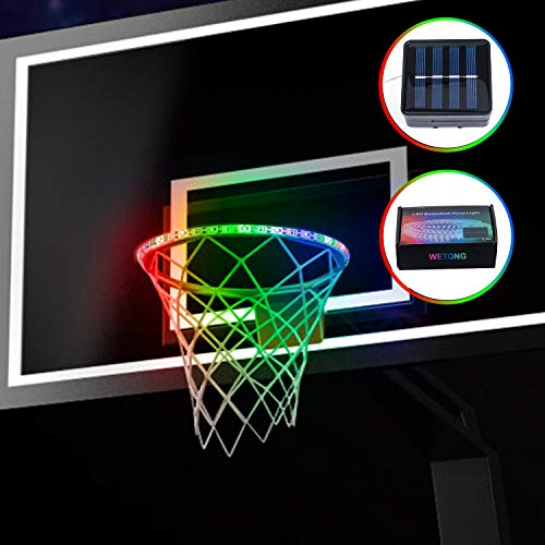 Read About Gr8ware LED Basketball Hoop Lights - Glow-in-The-Dark Basketball Rim Waterproof LED Light...