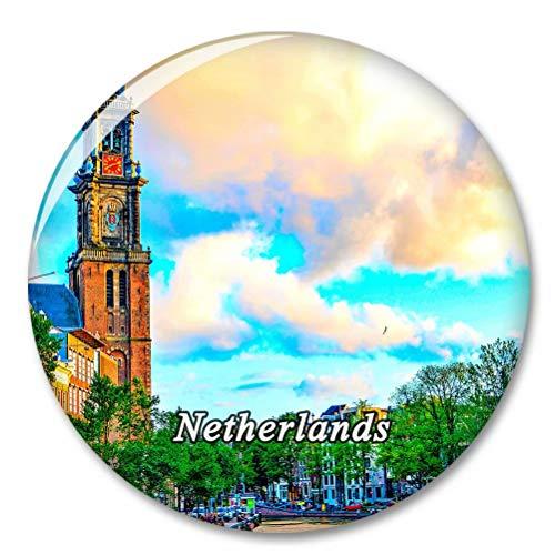 Holanda Amsterdam Imán de Nevera, imánes Decorativo, abridor de Botellas, Ciudad turística, Viaje, colección de Recuerdos, Regalo, Pegatina Fuerte para Nevera