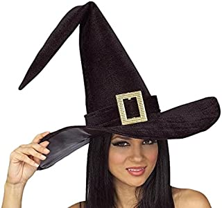 Rubie's Costume Co. Women's Black Witch Hat with Buckle