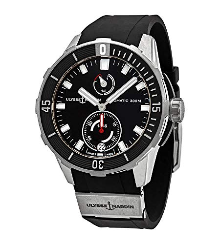 Ulysse Nardin Diver Chronometer Automatic Black Dial Men's Watch 1183-170-3/92