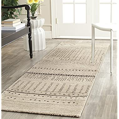 Safavieh Tunisia Collection TUN1711-BEG Beige Runner, 2 feet 6 inches by 6 feet (2'6  x 6')