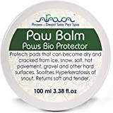 Arava Natural Paw Nose Balm Protector - for Dogs & Cats – Big Pack 3.38 oz - Soother - Relief for Dry Cracked Irritated Paws - Hot Spots Treatment - Healing Moisturizing Wax Cream for Pads