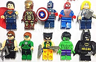 10 pcs Infinity war Super Heroes Active Figure Set for Kids Toy Party Supplies