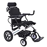 BEYOUR WALKER 2020 Electric Wheelchair, Foldable Mobility Aid Power Chair with Large Capacity...