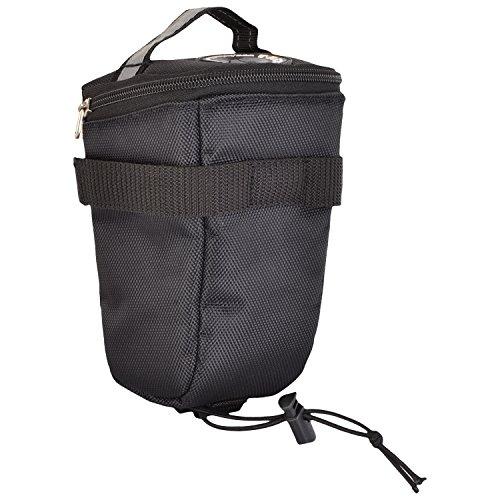 Trek 'N' Ride Polyester 201728 Cycle Saddle Bag (Black)