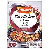 Schwartz Slow Cooker Chicken Curry Recipe Mix (33g) - Pack of 2
