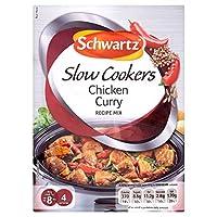 Schwartz Slow Cooker Chicken Curry Recipe Mix (33g) シュワルツスロークッカーチキンカレーレシピミックス( 33グラム)