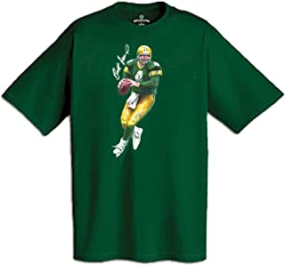 AP SPORTS Apparel Brett Favre T-Shirt Imprinted with Autograph and Action Illustration (600 Shirt Wholesale Pack)