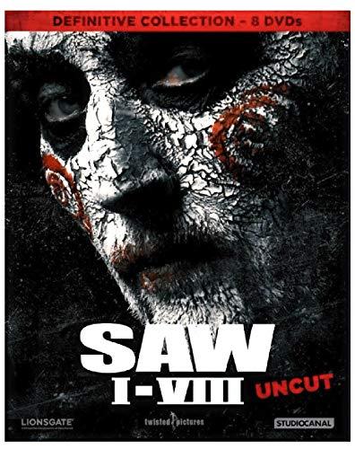 Saw Massacre I - VIII inkl. Jigsaw (Uncut!) Big Box - DVD