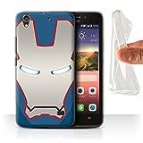 Hülle Für Huawei Ascend G620S Superheld-Helm Patriot