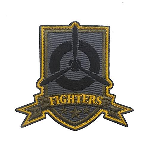 lihe008 Vintage Fighter Masters al aire libre Ejército Trolls bordado bordado mochila traje parche bordado (1PCS)8.5×8CM