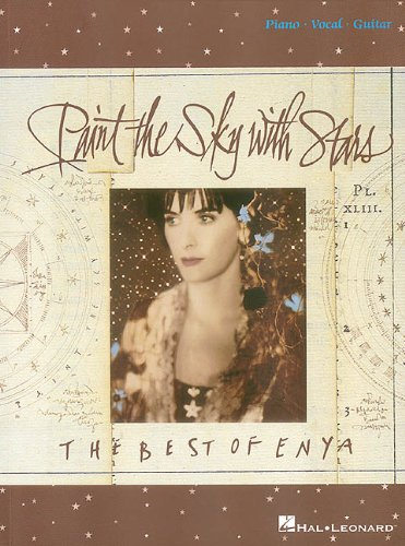 Enya: Paint The Sky With Stars: Songbook für Klavier, Gesang, Gitarre (Pvg)