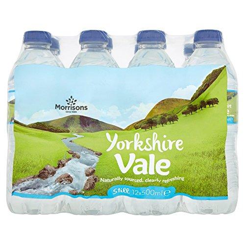 Morrisons Yorkshire Vale Still Water Bottle, 12 x 500 ml