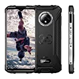 OUKITEL WP8 Pro Unlocked Rugged Smartphone, Android 10 4GB RAM + 64GB ROM MT6762D Cellphone, IP68 5000mAh 6.49 inch Dual SIM 16MP Rear Triple Camera NFC Global Version Mobile Phone (Black)