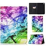 Funda para iPad Mini 1 2 3 4 5, Prima Cuero Carcasa Ligera 7,9 Pulgadas Protector de Cartera con Función de Soporte y Auto-Reposo/Activación, para iPad Mini 5 4 3 2 1 - Fuma