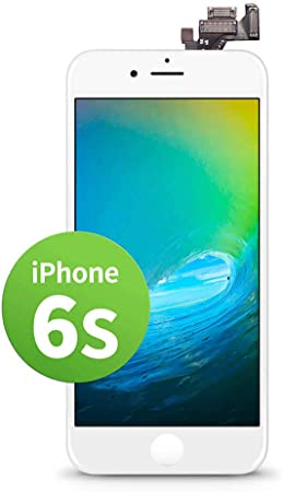 Giga Fixxoo Kompatibel Mit Iphone 4 Lcd Touchscreen Retina Display Ersatz In Weiß Für Einfache Reparatur