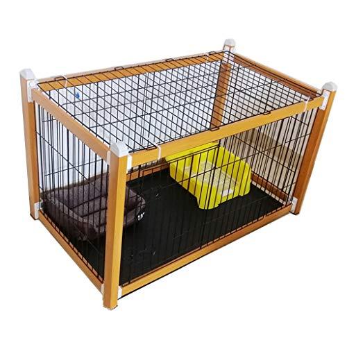 HONGFEISHANGMAO Jaula de Perro Cerca del Perro Cerca del Perro de la Jaula de Perro Jaula de Perro de la Perrera Cerca de Aislamiento Cajón de Perro (Size : M)