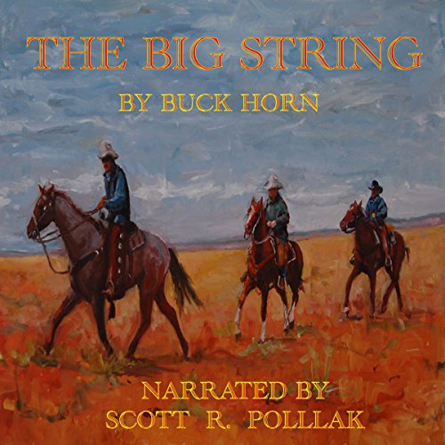 The Big String audiobook cover art