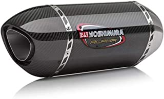 Yoshimura 16-18 Kawasaki ZX10R Alpha 3/4 System Exhaust (Race/Stainless Steel/Carbon Fiber/Carbon Fiber)