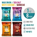 Snack Chips Popped Cassava Nut Free Low Calorie