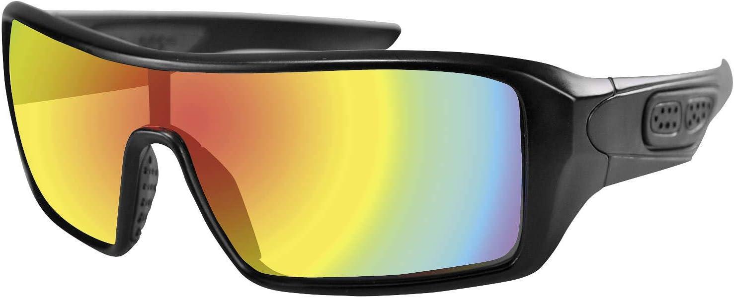 Bobster Eyewear Paragon Sgl Free Max 41% OFF shipping New Blk Mirror Epar001 Red