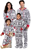 Pajamagram Family Pajamas Matching Sets - Christmas Onesie, Gray, LG
