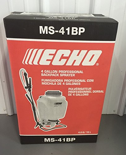 """MS-41BP Echo 4 Gallon Backpack Sprayer Professional 30"""" Wand 90 psi Piston Style ..#from-by#_batterymom5 (#ATOE100222182175683"""