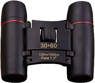 Sylvialuca Verrekijker Telescoop Outdoor Draagbare 30x60 HD Verrekijker Brede Hoek 126m/1000m View Field Mini Night Vision...