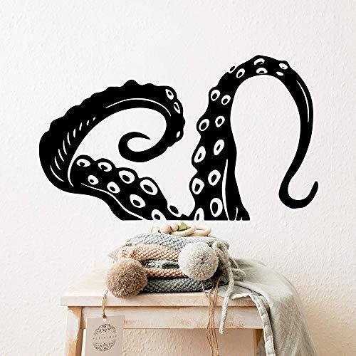 3D Octopus Tentakel Abnehmbare Kunst Wandaufkleber Dekor Wohnzimmer Wasserdicht Schlafzimmer Wandaufkleber Wallpaper A4 28x47cm