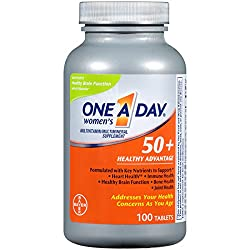 One A day Women's 50+ Health Advantage Multivitamins, another one of the best Multivitamins for Seniors in 2019