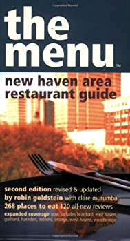 The Menu - New Haven Restaurant Guide 0974014303 Book Cover