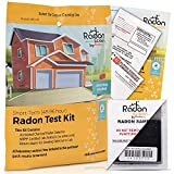 RadonScreen Radon Test Kit for Home – EPA Approved Short-Term Radon Tester (48-96 Hours) – Activated Charcoal Radon Detector for Home Basement – Quick Turnaround Time, All Lab Fees Included