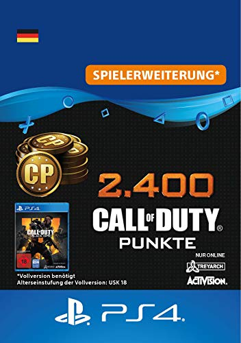 2.400 Call of Duty : Black Ops 4-Punkte - 2400 Points DLC | PS4/PS3 Download Code - deutsches Konto