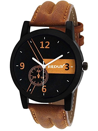 Redux RWS0014S Analogue Black Dial Man's & Boy's Watch
